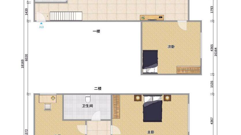 整租·宝安区西乡碧海富通城三期 三房两厅 很安静